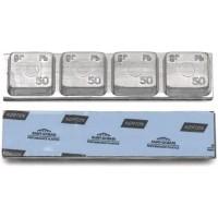 Грузик балансировочный свинцовый на синей ленте Norton Clipper, шт 200 гр (4х50 гр) 20/20