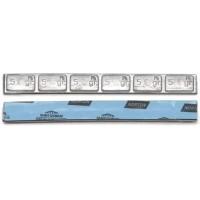 """Грузик балансировочный свинцовый """"тонкий"""" на синей ленте Norton Clipper, шт 30 гр (6х5 гр) 50/50"""