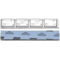 Грузик балансировочный свинцовый на синей ленте Norton Clipper, шт 100 гр (4х25 гр) 25/25