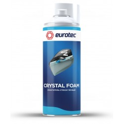Очиститель стекол пенный Eurotec Crystal Foam, аэрозоль 500 мл 1/12