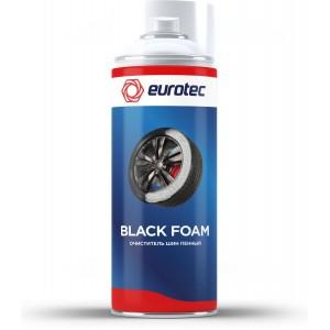 Очиститель шин пенный Eurotec Black Foam, аэрозоль 500 мл 1/12