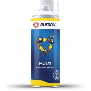 Смазка многоцелевая Eurotec Multi, аэрозоль 500 мл 1/12