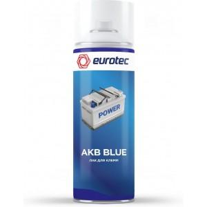Лак для клемм Eurotec AKB Blue синий, аэрозоль 250 мл 1/12