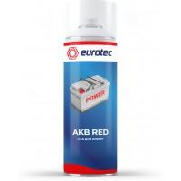 Лак для клемм Eurotec AKB Red красный, аэрозоль 250 мл 1/12