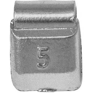 Грузик балансировочный для стальных дисков 05 гр, шт 100/100