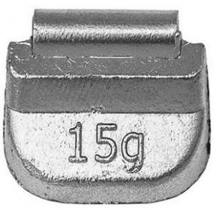 Грузик балансировочный для стальных дисков 15 гр, шт 100/100