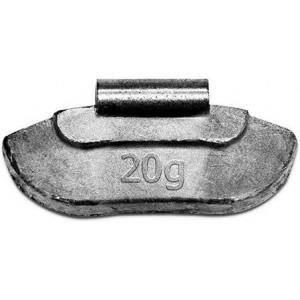 Грузик балансировочный для стальных дисков 20 гр, шт 100/100