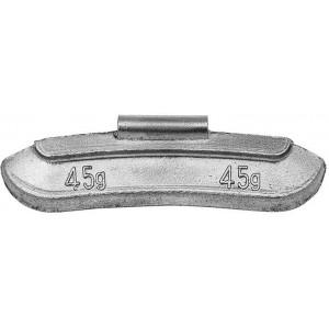 Грузик балансировочный для стальных дисков 45 гр, шт 50/50