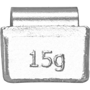 Грузик балансировочный для литых дисков 15 гр, шт 100/100