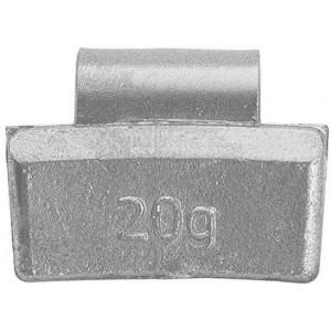 Грузик балансировочный для литых дисков 20 гр, шт 100/100