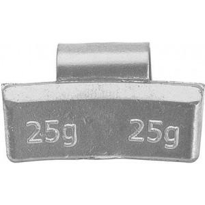 Грузик балансировочный для литых дисков 25 гр, шт 100/100