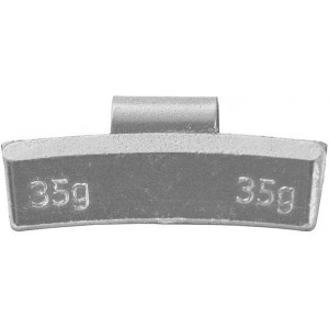 Грузик балансировочный для литых дисков 35 гр, шт 50/50