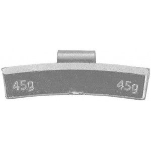 Грузик балансировочный для литых дисков 45 гр, шт 50/50