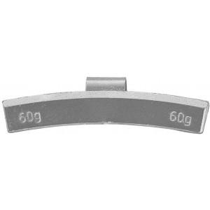 Грузик балансировочный для литых дисков 60 гр, шт 50/50