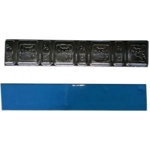 Грузик балансировочный свинцовый на синей ленте Eurotec, шт 60 гр (5+10 гр x 4) 100/100