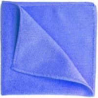 Салфетка из микрофибры Eurotec 40х40 см 320 г/кв м синяя, шт 1/200