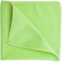 Салфетка из микрофибры Eurotec 40х40 см 320 г/кв м зеленая, шт 1/200