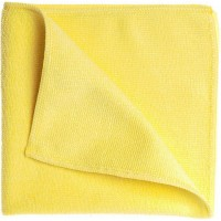 Салфетка из микрофибры Eurotec 40х40 см 320 г/кв м желтая, шт 1/200
