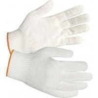 Перчатки трикотажные (4 нити, 10 кл, Люкс) белые, пара 250/250
