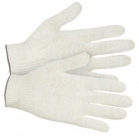 Перчатки трикотажные Eurotec 5 нитей, 10 кл белые, пара 200/200