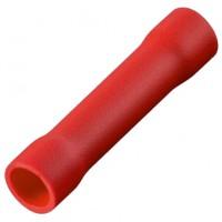 Соединитель кабеля обжимной 0.5-1.5 мм изолированный красный, шт 100/100