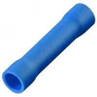 Соединитель кабеля обжимной 1.5-2.5 мм изолированный синий, шт 100/100