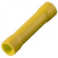 Соединитель кабеля обжимной 4.0-6.0 мм изолированный желтый, шт 100/100