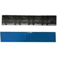 """Грузик балансировочный свинцовый """"тонкий"""" на синей ленте Ecoline , шт 60 гр (5+10 гр x 4) 100/100"""