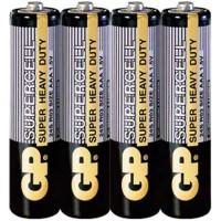 Батарейка AAA 1,5V солевая GP Supercell 24S, шт 4/40