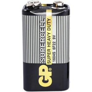Батарейка Крона 9,0V солевая GP Supercell , шт 1/1