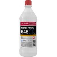 Растворитель 646, бутыль 1 л