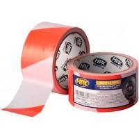 Лента барьерная HPX Barrier Tape 50 мм красно-белая, рулон 50 м 1/24