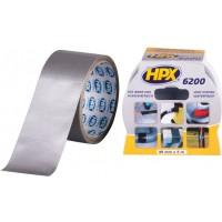 Лента ремонтная армированная HPX 6200 48 мм серебристая, рулон 5 м 1/24