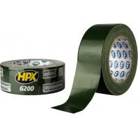 Лента ремонтная армированная HPX 6200 48 мм оливковая, рулон 5 м 1/24