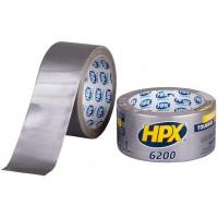 Лента клейкая армированная HPX 6200 серебристая 50 мм, рулон 10 м