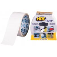 Лента ремонтная армированная HPX 6200 48 мм белая, рулон 5 м 1/24