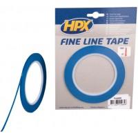 Лента маскирующая HPX 3 мм x 33 м, контурная синяя