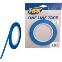 Лента маскирующая HPX 6 мм x 33 м, контурная синяя