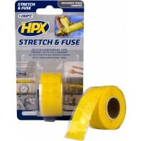 Лента силиконовая вулканизирующая HPX 25 мм желтая, рулон 3 м в блистере 1/6
