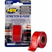 Лента силиконовая вулканизирующая HPX 25 мм красная, рулон 3 м в блистере 1/6
