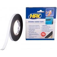 Лента клейкая двусторонняя HPX 12х1.0 мм, рулон 10 м