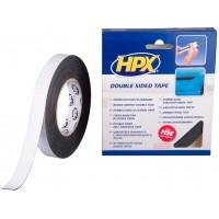 Лента клейкая двусторонняя HPX 19х1.0 мм, рулон 10 м