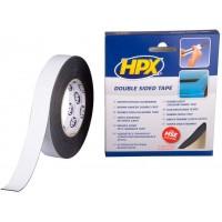 Лента клейкая двусторонняя HPX 25х1.0 мм, рулон 10 м