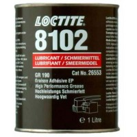 Смазка для высоконагруженных соединений Loctite LB 8102, банка 1 л 1/6