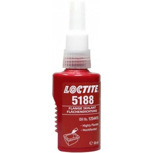 Герметик анаэробный фланцевый повыш эластичности для неактивн поверхн LOCTITE 5188, 50 мл 12/12