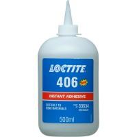 Клей моментального отверждения для эластомеров и резины Loctite 406, 500 гр 1/4