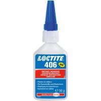 Клей моментального отверждения для эластомеров и резины LOCTITE 406, 50 гр 1/12