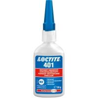 Клей моментального отверждения универсальный Loctite 401, 50 гр 1/12