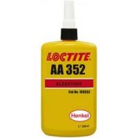 Клей УФ отверждения высокой вязкости LOCTITE AA 352 янтарный, 250 мл 1/10