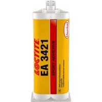 Состав эпоксидный 2К влагостойкий Loctite EA 3421, картридж под пистолет 2х25 мл 10/10